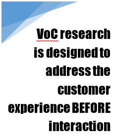 VoC (Voice of the Customer) quote